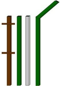 изготовление металлические столбы в Дзержинске
